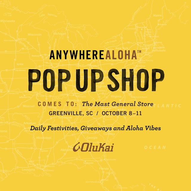 OluKai Pop Up Shop!!!