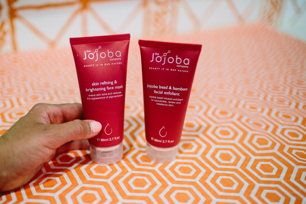FACIAL WITH ORGANIC TAN +THE JOJOBA COMPANY