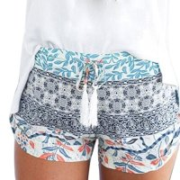 Franterd Women Short Pants - Summer Casual Shorts - High Waist Hot Pants