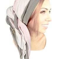 Infinity Scarf Chunky Knit Head-band Wrap Head-Scarf Boho Chic Artisan Handmade ShariRose