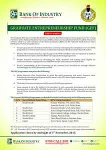 Bank of industry boi graduate entrepreneurship fund gef for opportuni gef newspaper ad boi approved thecheapjerseys Choice Image