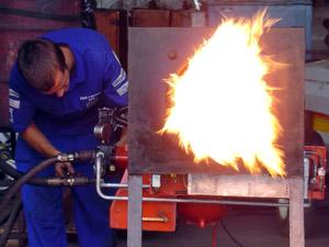 burner test