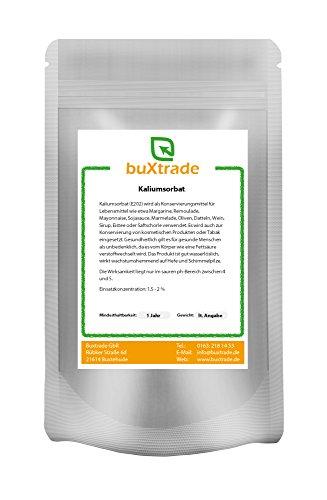 Kaliumsorbat E202 Konservierer für Angelköder Baits Boilie VERSCHIEDENE GRÖßEN - 1