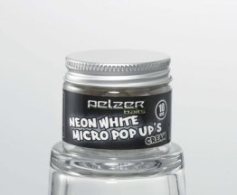 Pelzer Neon White Pop Up Boilies Cream 10mm 20g - 1