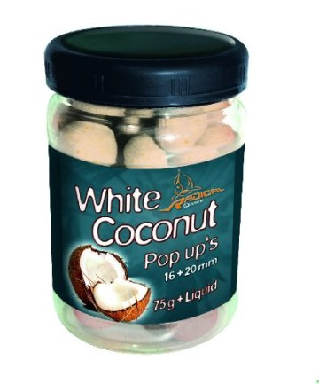 Quantum Radical White Coconut Pop Up Boilies 75g - 1