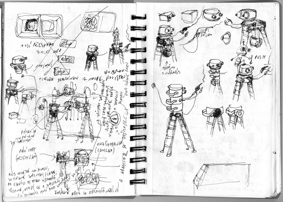 Everything but the Game: Behind the Sketchpad of Amanita's