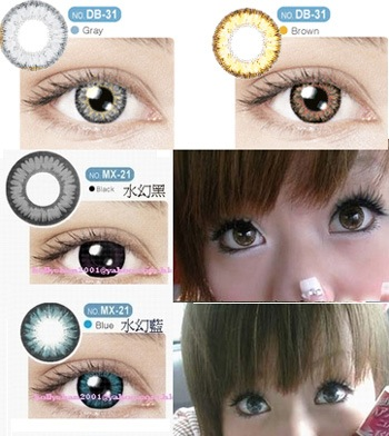 Contact Lenses For Anime Eyes Boing