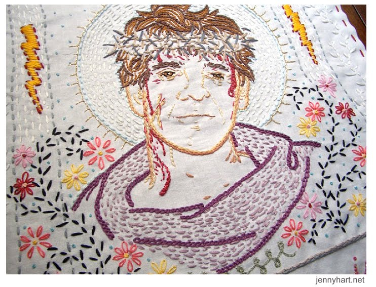 Jenny Hart S Embroidery Artwork Stolen From Exhibition Boing Boing