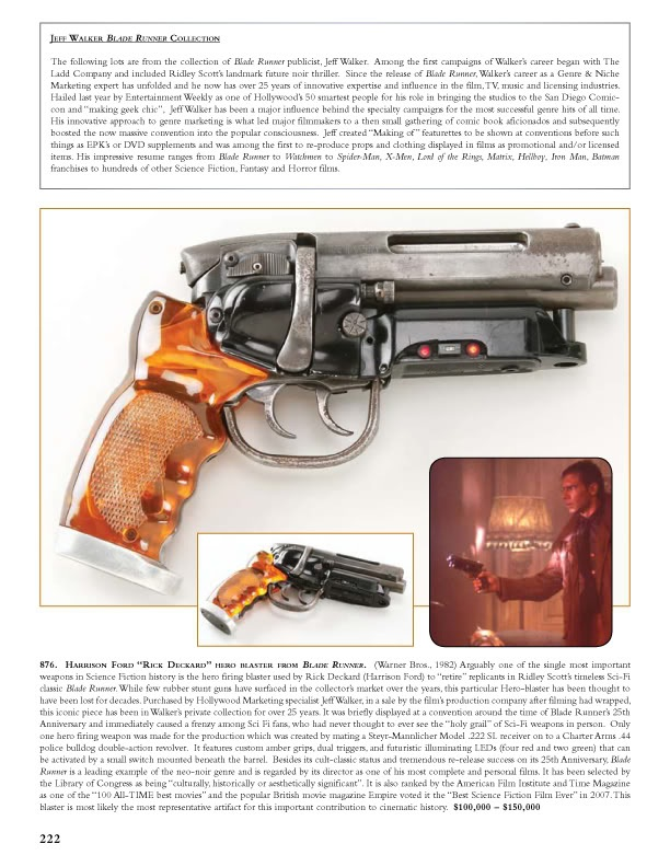 Adam Savage: my Blade Runner gun / Boing Boing