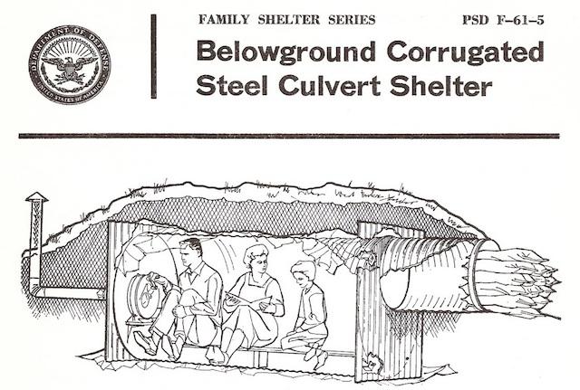 1962 Fallout Shelter Design Booklet Boing Boing