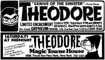 brother theodore actor