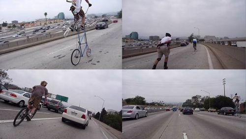 Attachments La Zach 11-Freeway Bicycle Ride