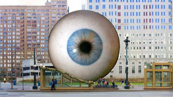 Cnn 2010 Travel 06 07 Chicago.Eyeball.Sculpture T1Larg