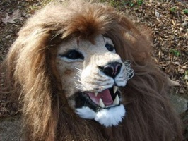 Howto Make An Animatronic Lion Mask With Superpowers