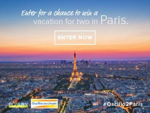 Enter to win a vacation for 2 in paris