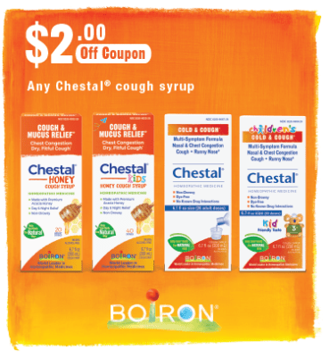 $2 Off Chestal Products Coupon