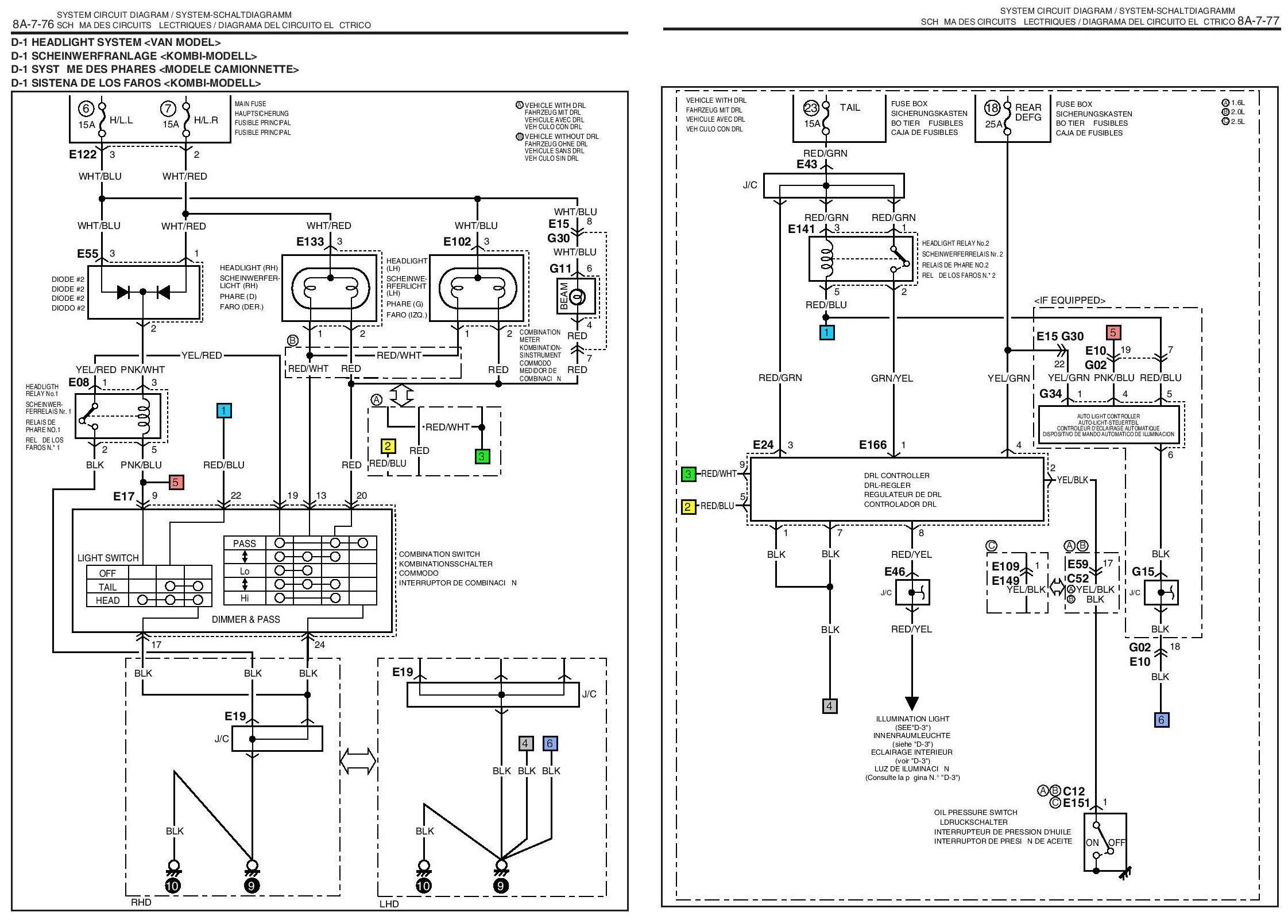 Schema Electrique Suzuki Grand Vitara