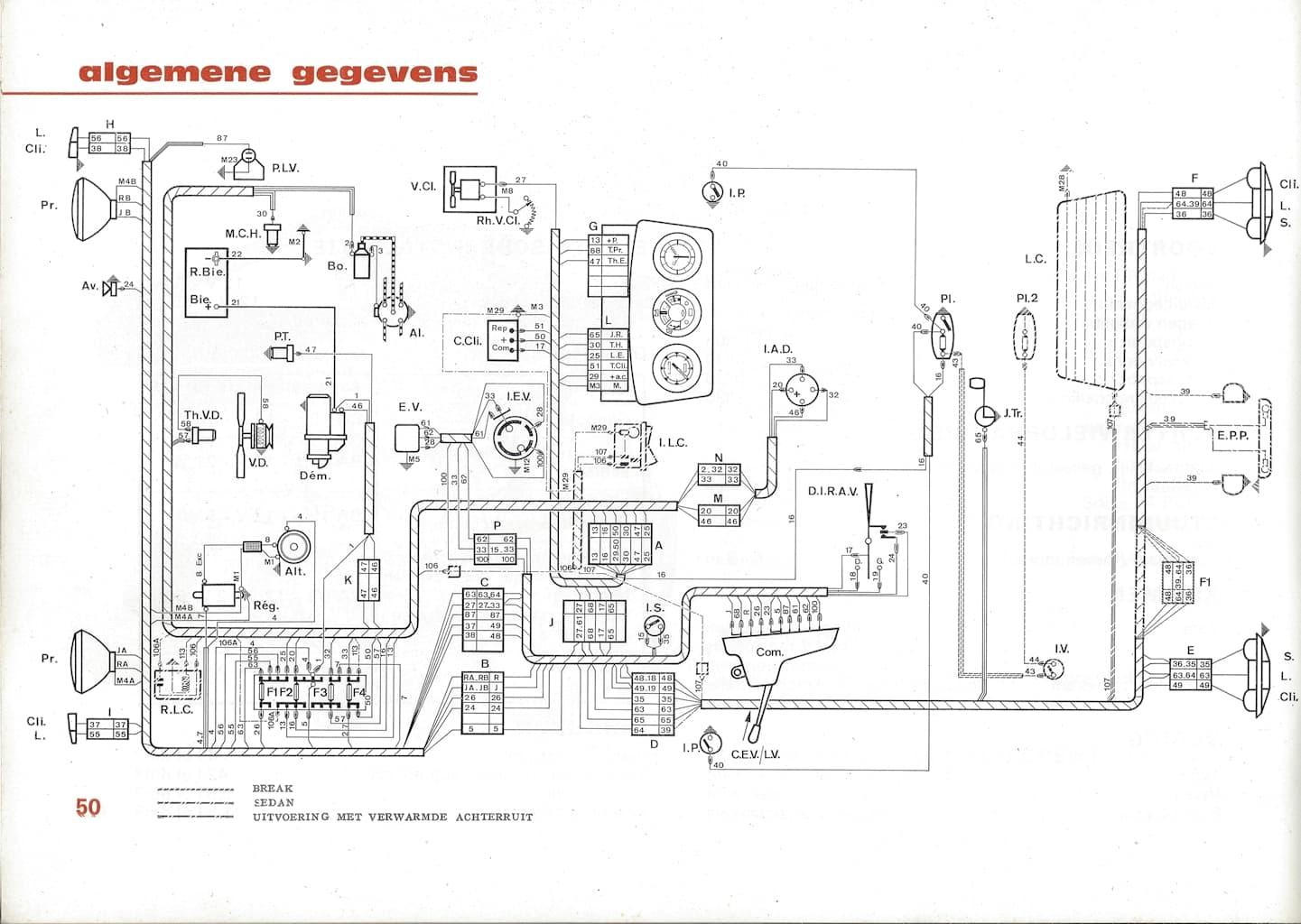 Schema Electrique Peugeot J7