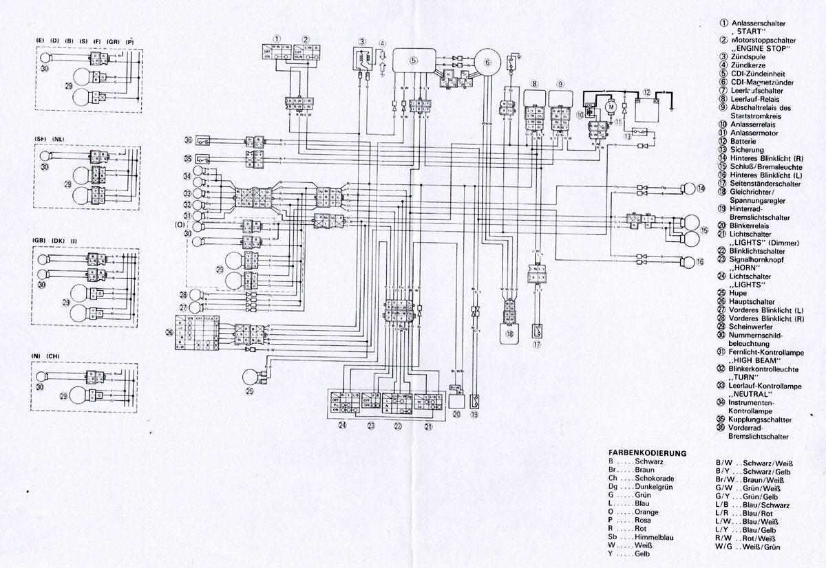 Schema Electrique 600 Xt 3tb