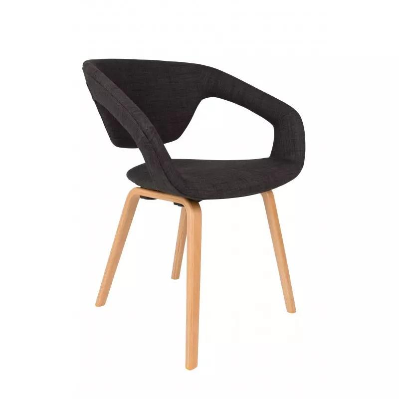 chaise design flex back par zuiver