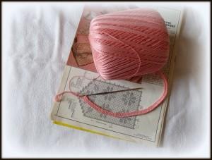 étape 1 crochet A