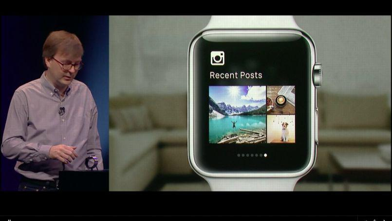 App Apple Watch demo