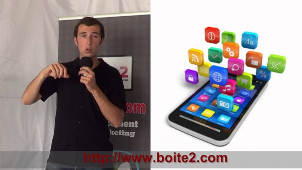 BOITE2.com application mobile