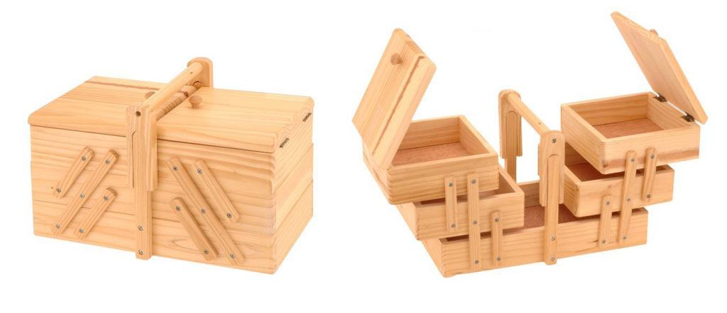 les meilleures boites a couture en bois