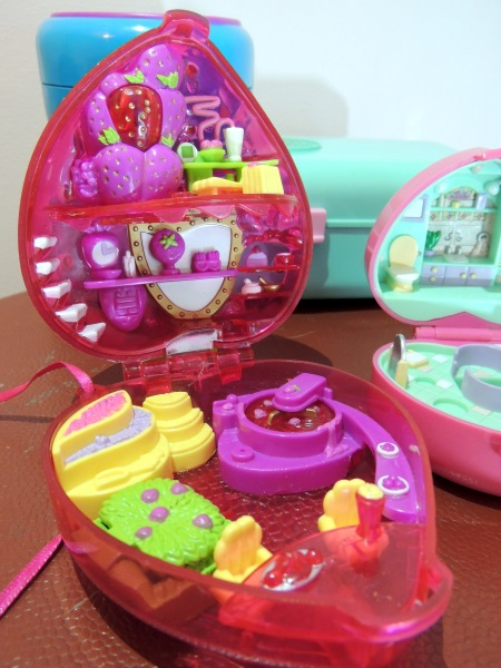 Polly Pocket fraise 2000