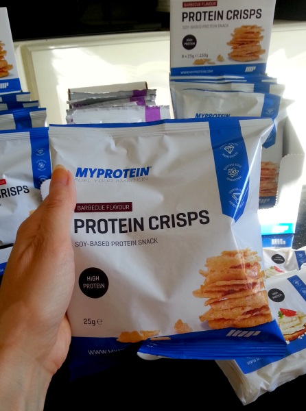 Chips protéinées MyProtein saveur barbecue