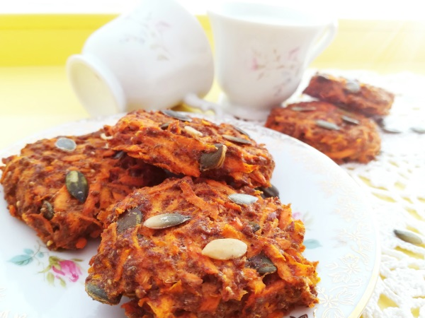 Cookies Carrot Cake healthy