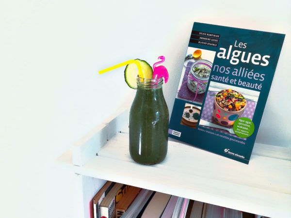 Green smoothie à l'ail