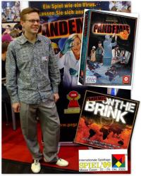 Matt Leacock, créateur de Pandémie et de son extension On the Brink