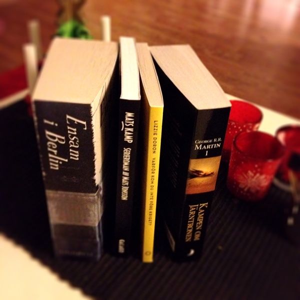 Nya pocketböcker