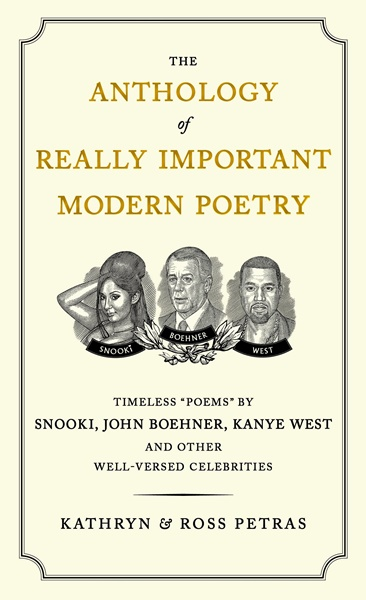 The anthology of really important modern poetry - Kathryn Petras, Ross Petras