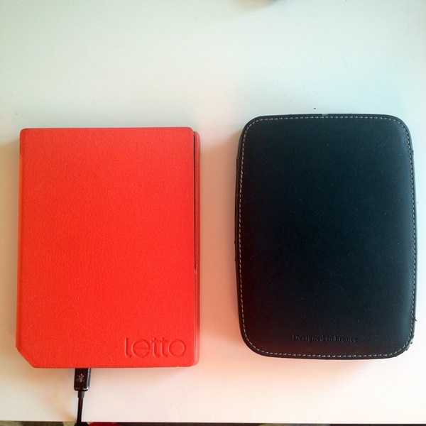 Letto Frontlight och Bokeen Cybook Opus