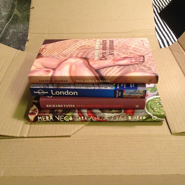 Böcker från bokrean - Den andra kvinnan, London, Mera vego, noveller av Richard Yates