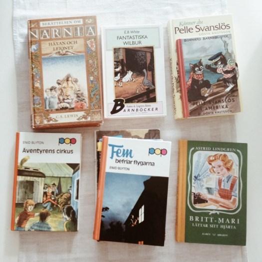 Klassiska barn- och ungdomsböcker