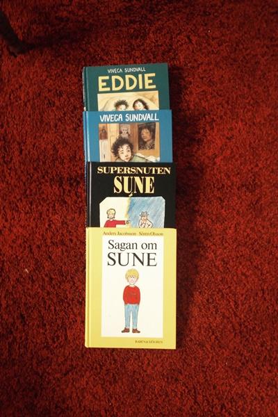 Sune-böcker och Eddie-böcker