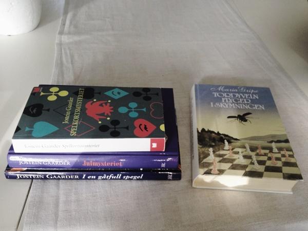 Böcker av Maria Gripe och Jostein Gaarder