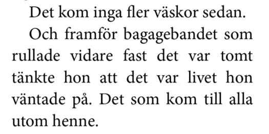 Ur Aftonland av Therese Bohman