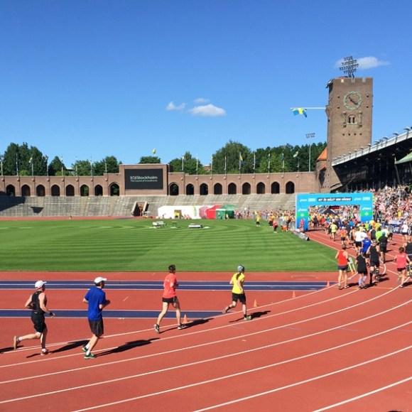 Stockholm marathon!
