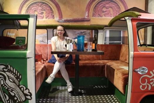 Juli - Är i Vasa och äter tacos