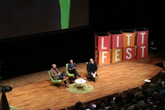Po Tidholm, Ann Ighe och Håkan Forsell samtalar om Läget i landet och urbanitetens tillstånd.