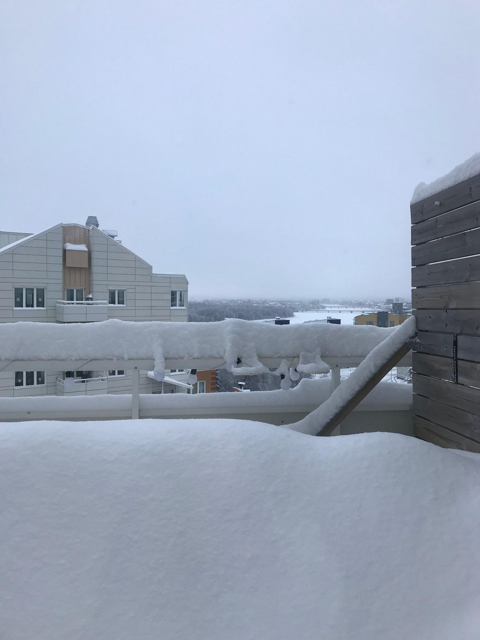 Snö i februari