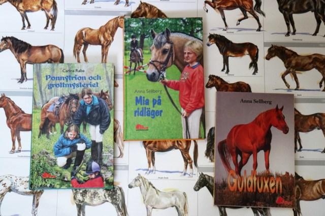 Böcker av Anna Sellberg och Carina Rabe