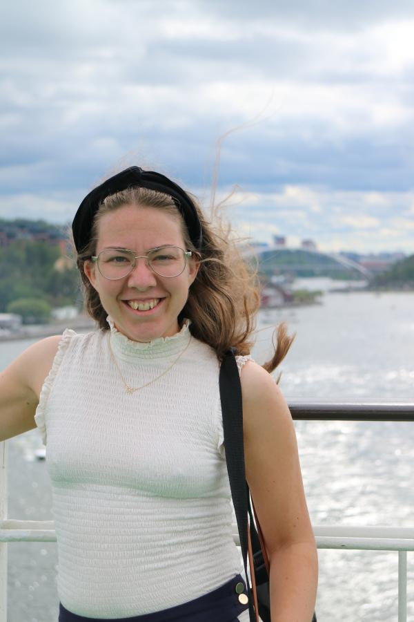 På Finlandsbåten i juli