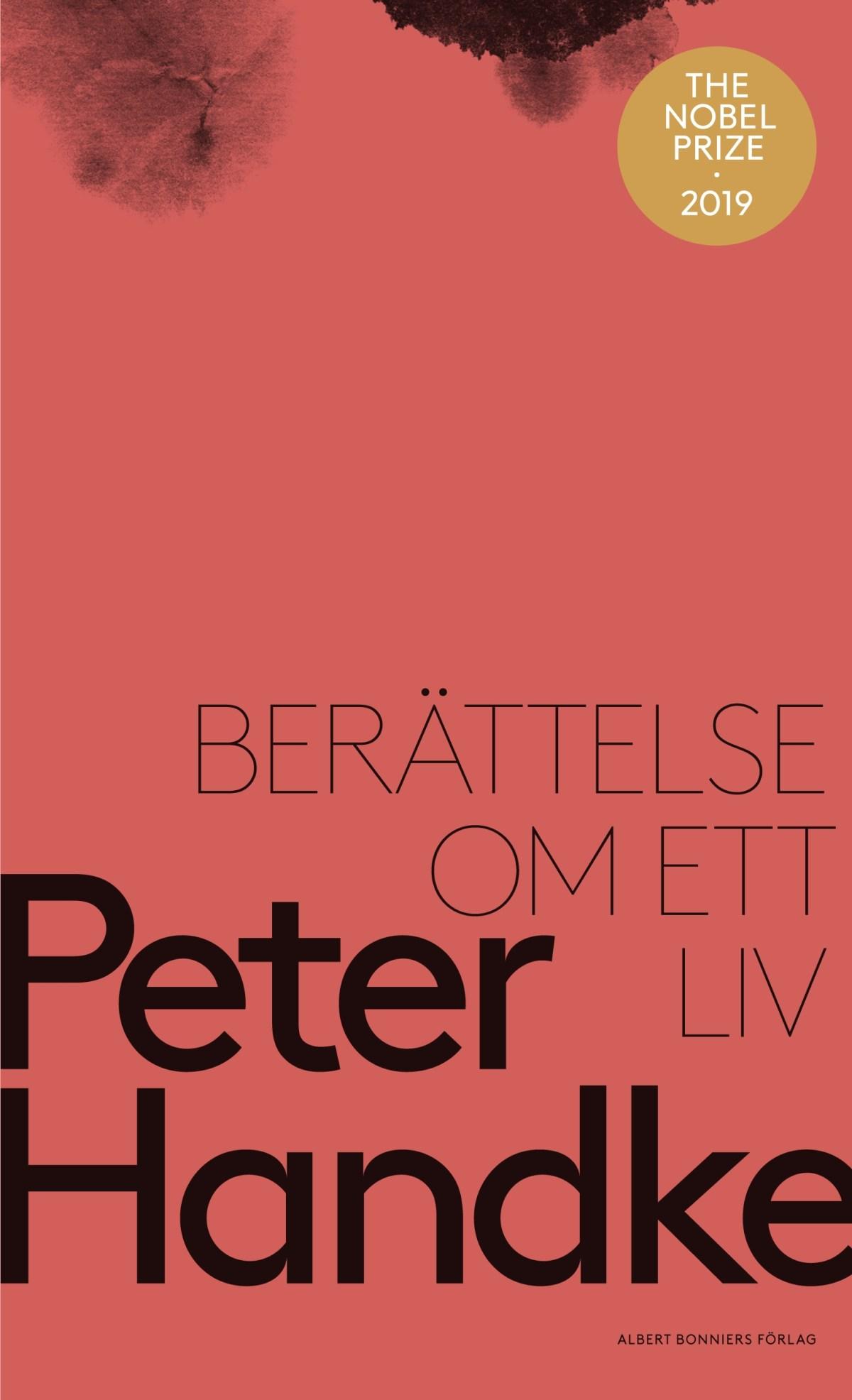 Berättelse om ett liv av Peter Handke