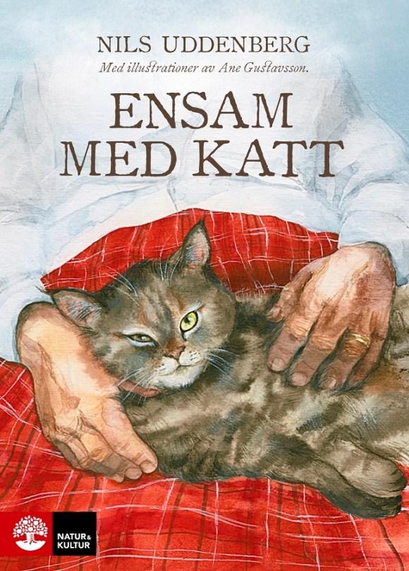 Ensam med katt av Nils Uddenberg
