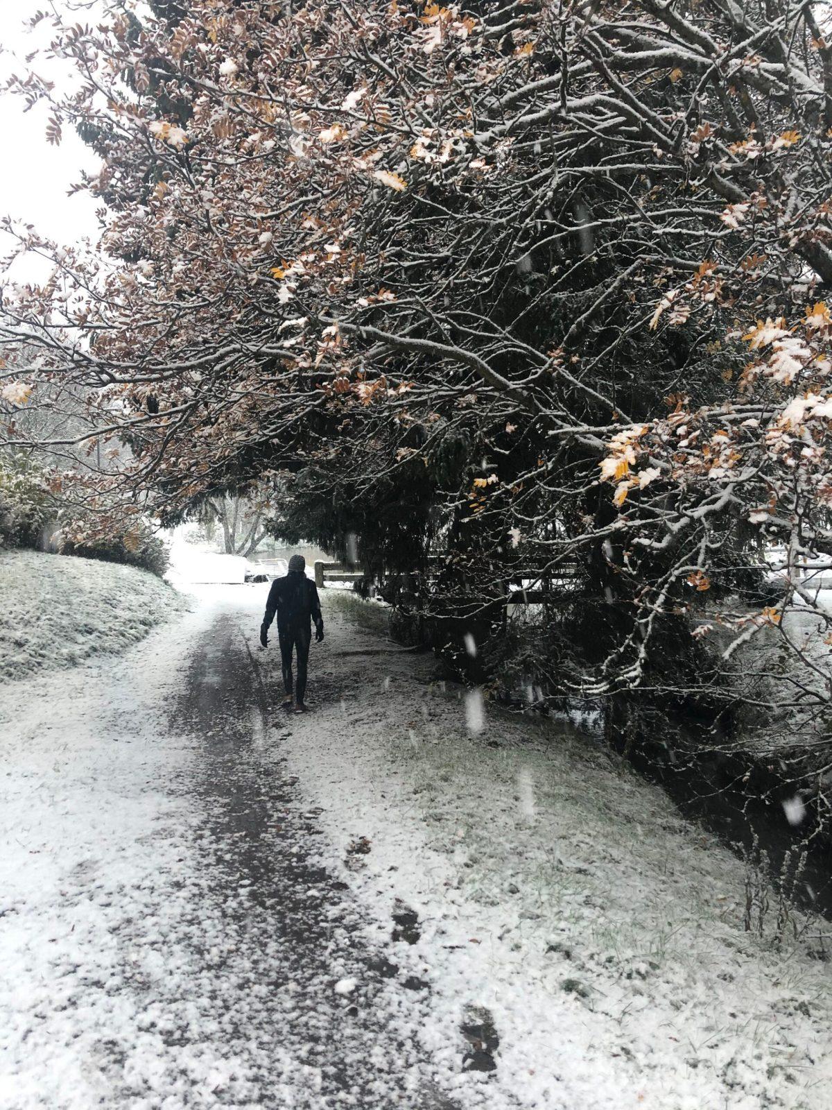Snö i oktober